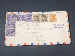 """EGYPTE - Enveloppe Pour La France En 1945 , Mention """" On Active Service """" - L 17915 - Covers & Documents"""