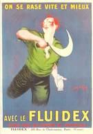 PUB Publicité  NUGERON  VA 25 -VIEILLES AFFICHES FLUIDEX (Jean D'YLEN Bibliothéque Fornay) *PRIX FIXE - Publicité