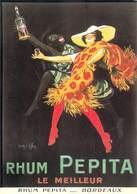PUB Publicité  NUGERON  VA 26 - VIEILLES AFFICHES Rhum PEPITA Bordeaux (Jean D'YLEN Bibliothéque Fornay) *PRIX FIXE - Publicité