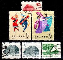 Cina-A-0366 - Emissione 1963 - Senza Difetti Occulti - - 1949 - ... Repubblica Popolare
