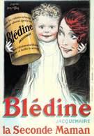 PUB Publicité  NUGERON  VA 27 -VIEILLES AFFICHES Blédine JACQUEMAIRE (Jean D'YLEN Bibliothéque Fornay) *PRIX FIXE - Publicité