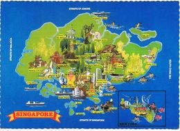 Straits Of Singapore - Air Mail - Singapore