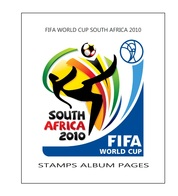 Suplemento Filkasol FIFA WORLD CUP SOUTH AFRICA 2010 - Montado Con Filoestuches HAWID Transparentes - Álbumes & Encuadernaciones