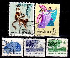 Cina-A-0367 - Emissione 1963 - Senza Difetti Occulti - - 1949 - ... Repubblica Popolare