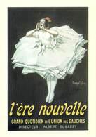PUB Publicité NUGERON VA 30- VIEILLES AFFICHES L'ère Nouvelle Quotidien De Gauche (presse (Jean D'YLEN /Fornay)PRIX FIXE - Publicité