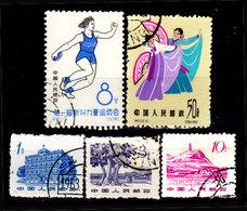 Cina-A-0368 - Emissione 1963 - Senza Difetti Occulti - - 1949 - ... Repubblica Popolare
