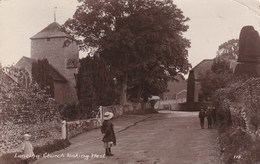 LANCING CHURCH LOOKING WEST - England