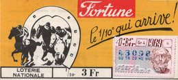 BILLET  DE  LOTERIE FORTUNE 1969 - Billets De Loterie
