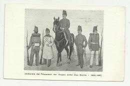 UNIFORME DEI FINANZIERI DEL REGNO DELLE DUE SICILIE - NV FP - Guerra 1914-18