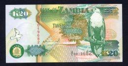 Banconota Zambia 20 Kwacha (UNC) - Zambia
