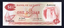 Banconota GUYANA 1 Dollaro 1966/92 (UNC) - Guyana