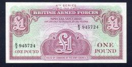Banconota Gran Bretagna British-Armed Forces - 1 Pound (FDS) - Forze Armate Britanniche & Docuementi Speciali
