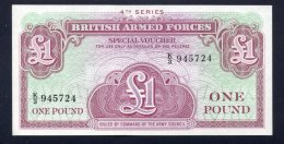 Banconota Gran Bretagna British-Armed Forces - 1 Pound (FDS) - Emissioni Militari