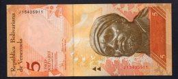 Banconota Venezuela - 5 Bolivares 2008 (FDS) - Venezuela