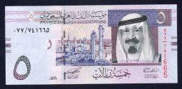 Banconota Arabia Saudita - 5 Rials 2007 (FDS/UNC) - Arabia Saudita