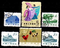 Cina-A-0369 - Emissione 1963 - Senza Difetti Occulti - - 1949 - ... Repubblica Popolare