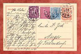 P 141 Postreiter + ZF, Muenchen Nach Anger 1922 (52093) - Deutschland