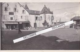 MUR DE BARREZ  Années 1930 - Photo Originale Du Centre, L'Hôtel Du Midi ( Cantal ) - Lieux