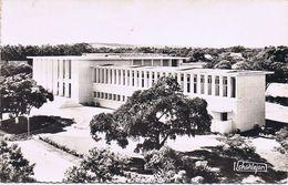 Brazzaville - Palais De Justice - Viaggiata 1961 Con Affrancatura Multipla - Brazzaville