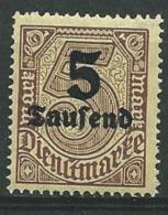 Allemagne   - Service  - Yvert N°   37 **  - Bce 15211 - Officials