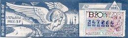 BILLET  DE  LOTERIE ODEL  Office De Diffusion Et D' Emission De Loterie 1970 - Billets De Loterie