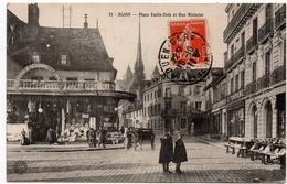 Dijon : Place Emile Zola Et Rue Michelet (Bauer, Marchet Et Cie, N°71) - Dijon