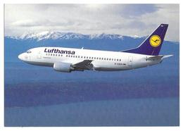 Lufthansa Boeing 737-500. - 1946-....: Era Moderna
