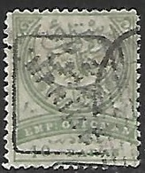 Turkey  1891  Sc#P10   10paras Newspaper Stamp Used  2016 Scott Value $12.50 - 1858-1921 Impero Ottomano