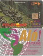 """PERU - Machu Picchu/Cuzco 2(puzzle 4/4, Reverse """"Alo USA Corp.""""), Tirage 8000, Used - Peru"""