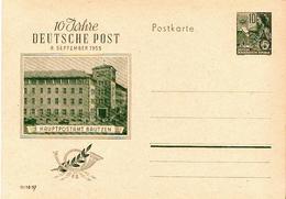 Germany / DDR Mint Postal Card - [6] Democratic Republic