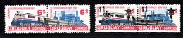 Train, Eisenbahn, Locomotive, Railway: Uruguay 1969 + 1972 Mi Nr 1144+1145 ; PK94+95 - Treinen