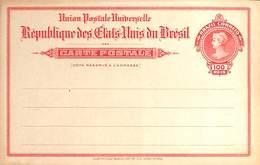 Entier Postal - République Des Etats-Unis Du Brésil (100 Reis, American Bank Note Co New York) - Brésil