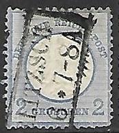 Germany 1872  Sc#5  2gr  Small Shield Used  2016 Scott Value  $15 - Germany