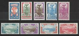 Martinique Yv. 120-28, Mi Ex 88-105 * - Neufs
