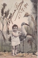 ANGELINA PAGANO (ACTRIZ, PROFESORA, DIRECTORA) AUTOGRAFO AUTOGRAPH SIGNE 1904. POSTAL CIRCULADA BUENOS AIRES. TBE.-BLEUP - Autographes