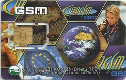 Cyprus - CytamGSM - Pictures Collage GSM Sim 2 Mini, Used Fixed Chip - Cyprus