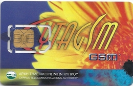 Cyprus - CytamGSM - Flower Type #1 GSM Sim 2 Mini, Used Fixed Chip - Cyprus