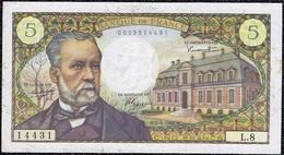 France 5 Francs 1966 Pasteur VF+++ Banknote - 5 F 1966-1970 ''Pasteur''