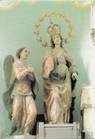 Catania Comune Di Bronte Santuaria Maria SS Annunziata Antonio Gaggini.  Timbro 95034 Bronte (CT) - Virgen Mary & Madonnas