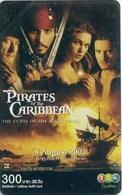 Mobilecard Thailand - 12Call - Movie,Film,cinema  - Pirates Of The Caribbean (4) - Cinema