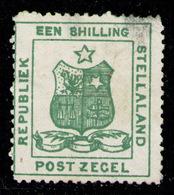 SOUTH AFRICA STELLALAND 1884 - From Set Mint No Gum (light Transparency Spot On Upper Right Corner) - Otros