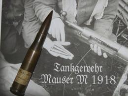 SUPERBE CARTOUCHE ALLEMANDE DE TANKGEWEHR 1918 !!! - 1914-18