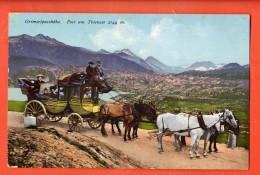 DA04-06 Grimsel  Passhöhe, Post Am Totensee Postabfahrt.Diligence Postale. Brrennenstuhl Meiringen 642. Nicht Gelaufen - BE Berne