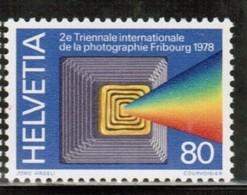 TRIENNALE DER FOTOGRAFIE PHOTOGRAPHIE PHOTOGRAPHY SWITZERLAND SCHWEIZ 1978  MNH MI 1119 - Fotografia
