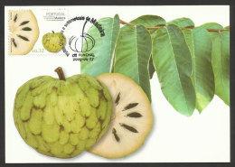 Portugal Fruits De Madère Anona Carte Maximum 2009 Madeira Fruit Annona Maxicard - Tarjetas – Máximo