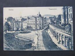 AK BIELITZ Theaterplatz Ca.1910 ////  D*32039 - Schlesien