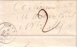 TARN - CORDES - T13 DU 5 MAI 1846 - TAXE 2  MANUSCRITE - TEXTE ET SIGNATURE SAVAREL. - 1801-1848: Precursors XIX
