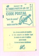 """CARNET 1893-C 1 Marianne De Béquet  """"CODE POSTAL"""" Conf. 6 Ou 8 Au Choix Fermé. Parfait état Bas Prix RARE. - Usage Courant"""