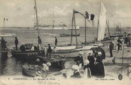 Kernevel- Les Barques De Pêche.(texte D'un Soldat Blessé En 1916)- Port - Louis. - Port Louis
