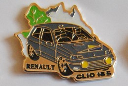 4 Pin's: Renault 21 - Renault Espace - Renault Clio 16 S - Renault F1 (moteur) - Renault